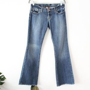 LUCKY BRAND LIL MAGGIE Denim Jeans Button Fly
